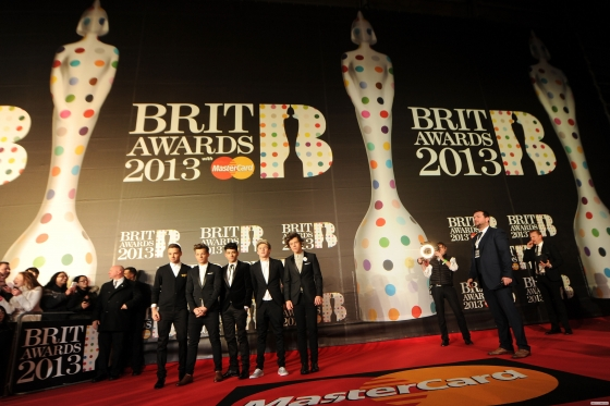 one direction,1d,1d 20.02.13,brit awards 2013,harry styles,liam payne,louis tomlinson,niall horan,zayn malik,red carpet