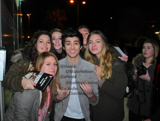 one direction,1d,1d cannes 26.01.13,nrj awards 2013,zayn malik,fan
