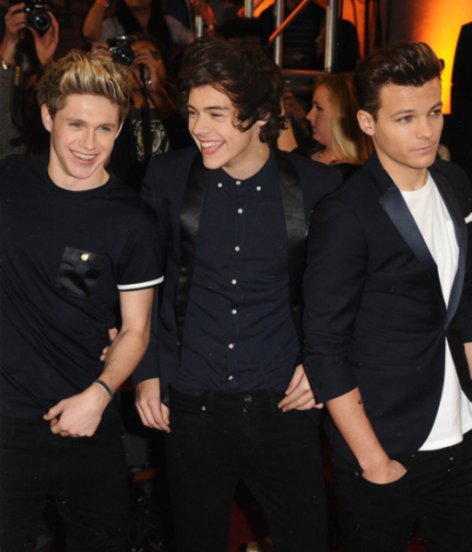 one direction,1d,1d los angeles la 20.12.12,x factor usa,harry styles, louis tomlinson, niall horan