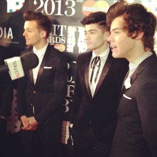 one direction,1d,1d 20.02.13,brit awards 2013,harry styles,louis tomlinson,zayn malik,red carpet