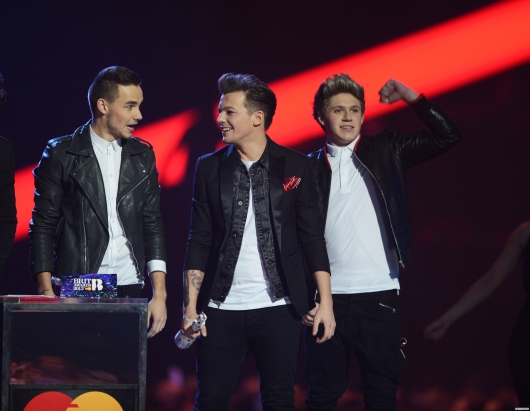 one direction, 1d, 1d 20.02.13, brit awards 2013, harry styles, liam payne, louis tomlinson, niall horan, zayn malik, global success award