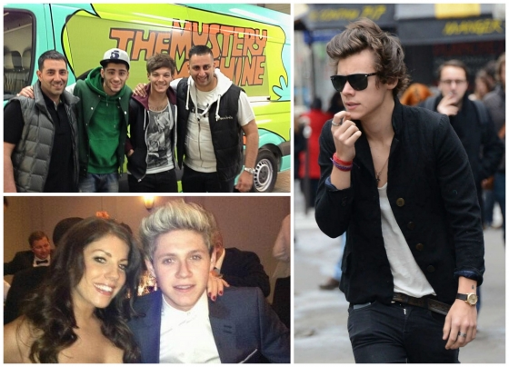 one direction,1d,1d 28.04.13,harry styles,louis tomlinson,niall horan,zayn malik,mystery machine,harry in paris,fan,fans,cal aurand,harry tour eiffel fan,harry eiffel tower fans,pfa's,professional footballers association awards,fans