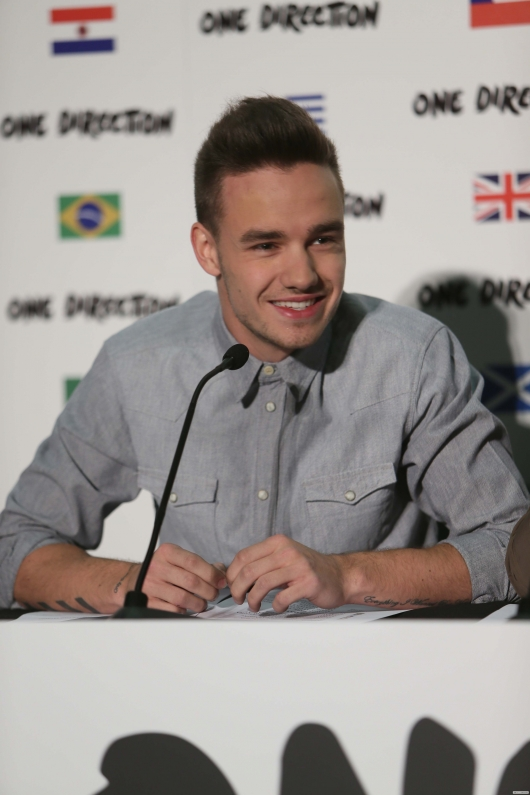 one direction, 1d, 1d wembley stadium 16.05.13, liam payne, beautiful photo of liam, bella foto di liam, #1bigannouncement, press conference