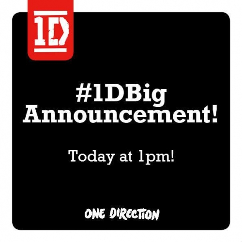 one direction,1d,harry styles,liam payne,louis tomlinson,niall horan,zayn malik,big news to come in the 1d world,grande notizia da annunciare nel mondo dei 1d