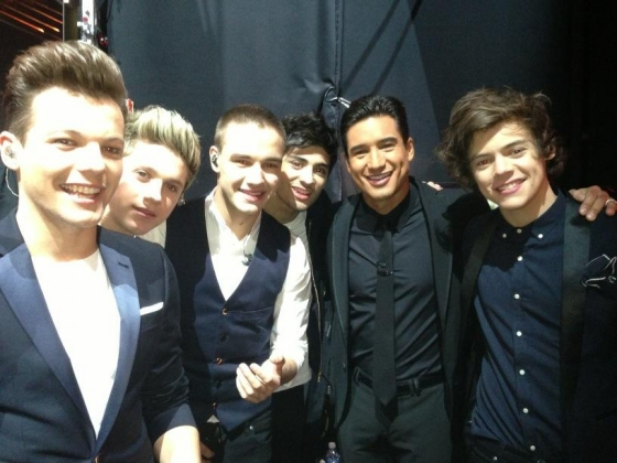 one direction,1d,1d los angeles la 20.12.12,x factor usa, harry styles, liam payne, louis tomlinson,niall horan, zayn malik, mario lopez