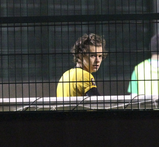 one direction,1d,1d 31.01.13,harry styles,football uniform,football match