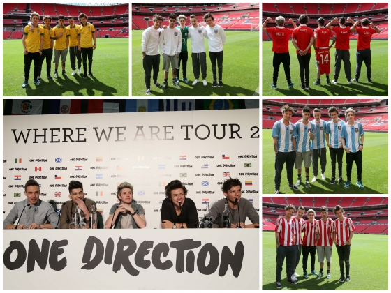 one direction,1d,1d wembley stadium 16.05.13,where we are tour 2014,harry styles,liam payne,louis tomlinson,niall horan,zayn malik,#1bigannouncement,#onebigannouncement,#1dbigannouncement,new world tour one direction 1d,nuovo tour mondiale one direction 1d,one direction 1d talking about their third album,one direction 1d parlano del terzo album,glenda gilson,video,videos,press conference,conferenza stampa,one direction 1d beautiful photos,one direction 1d belle foto