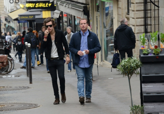one direction, 1d, 1d 28.04.13, harry styles, harry in paris, cal aurand, harry cal aurand paris, beautiful photo of harry, bella foto di harry