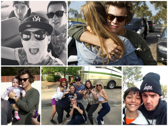 one direction,1d,1d adelaide australia 25.09.13,harry styles,liam payne,niall horan,fan,fans,deo devine,friends,harry holding a baby in his arms pics,harry che tiene una bimba in braccio foto