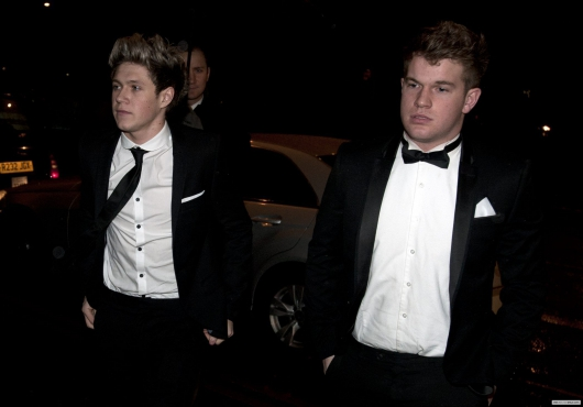 one direction,1d,1d london 18.03.13,niall horan,niall in a tuxedo,niall con il vestito,Brian O'Driscoll's Testimonial