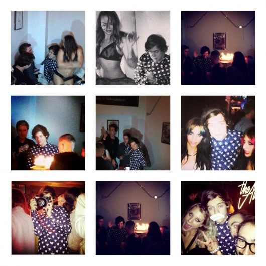 one direction,1d,1d 01.02.13,harry styles,19th birthday party, festa di compleanno 19,friends,amici