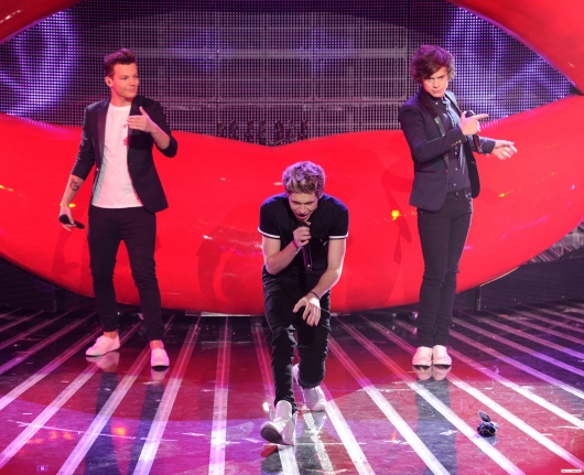 one direction,1d,1d los angeles la 20.12.12,x factor usa,harry styles,louis tomlinson,niall horan