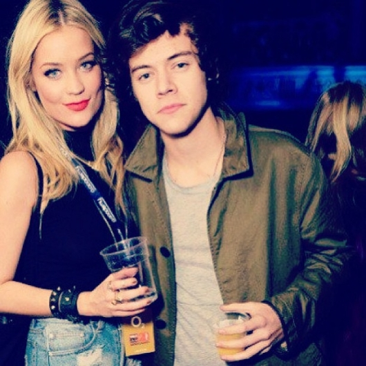 one direction,1d,1d 18.02.13,harry styles, laura whitmore