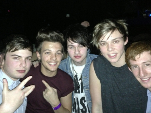 one direction,1d,1d 01.02.13,louis tomlinson, funky buddha, andy's birthday party,friends