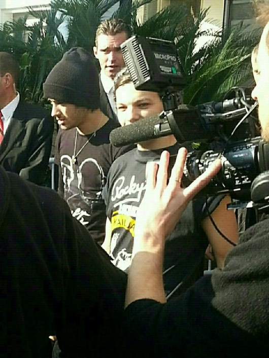 one direction,1d,1d cannes 26.01.13,louis tomlinson,zayn malik