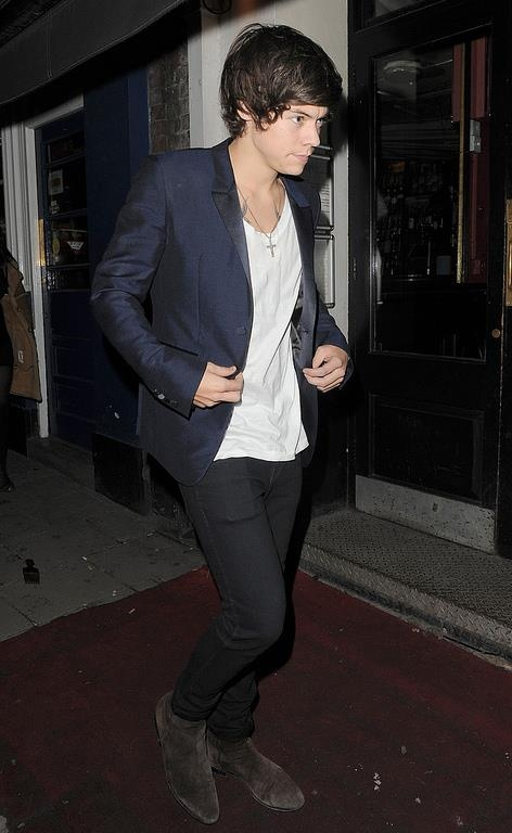 one direction,1d,1d 31.01.13,harry styles,19th birthday dinner