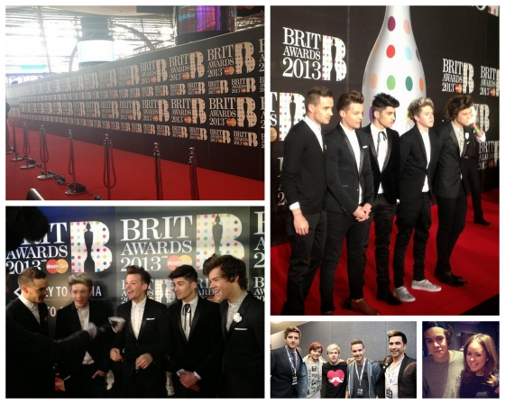 one direction,1d,1d 20.02.13,brit awards 2013,harry styles,liam payne,louis tomlinson,niall horan,zayn malik,backstage,tanya burr,emeli sandé,greg james,russell kane,red carpet