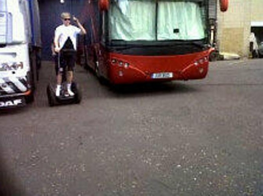 one direction, 1d, 1d nottingham 16.04.13, niall horan, niall on his segway