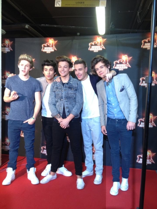 one direction,1d,1d cannes 26.01.13,nrj awards 2013,harry styles,liam payne,louis tomlinson,niall horan,zayn malik