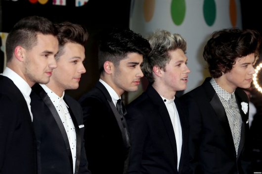 one direction, 1d, 1d 20.02.13, brit awards 2013, harry styles, liam payne, louis tomlinson, niall horan, zayn malik, red carpet