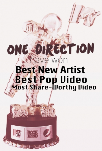 one direction,1d,vma's 2012, 1d vma's 2012 won prizes, vma's 1d premi vinti, 1d best pop video,1d best new artist, 1d most share worthy video, 1d 3 vma's, proud directioner, #prouddirectione, 1d 3 moonmen,
