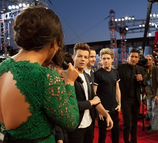 one direction,1d,1d los angeles la 20.12.12,x factor usa,red carpet,harry styles,liam payne,louis tomlinson,niall horan, zayn malik