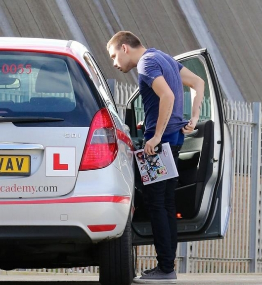 one direction,1d,1d london 30.01.13,liam payne,driving lessons, scuola guida