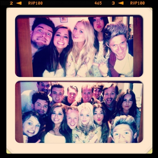 one direction,1d,1d london uk 28.05.13,niall horan,laura withmore,natalia jorquera, friends, eoghan mcdermott, cal aurand, josh devine