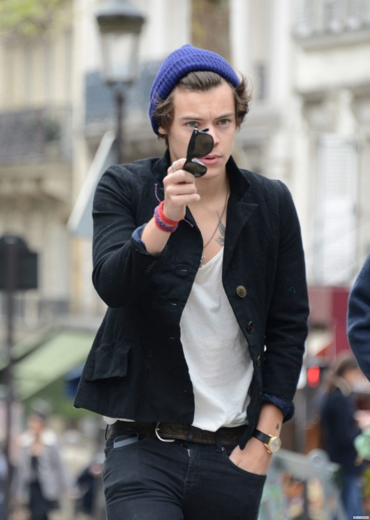 one direction, 1d, 1d 28.04.13, harry styles, harry in paris