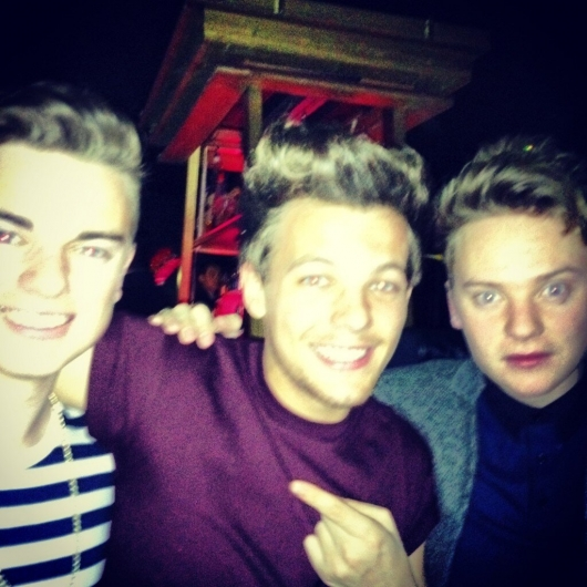 one direction,1d,1d 01.02.13,louis tomlinson, funky buddha, andy's birthday party,conor maynard, jack maynard
