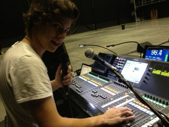 one direction,1d,1d london 29.01.13, harry styles,sound engineer,take me home tour, rehearsals, prove