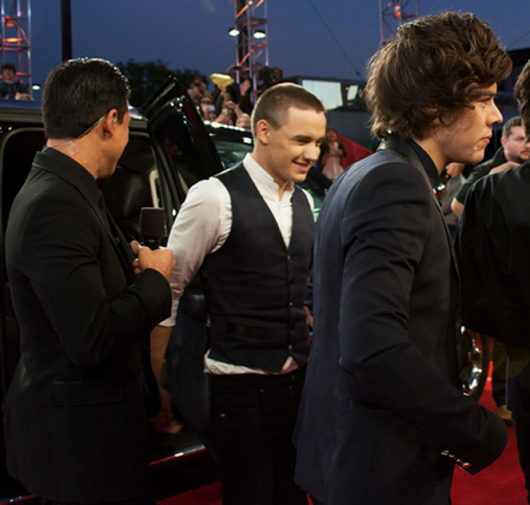 one direction,1d,1d los angeles la 20.12.12,x factor usa,red carpet,harry styles,liam payne